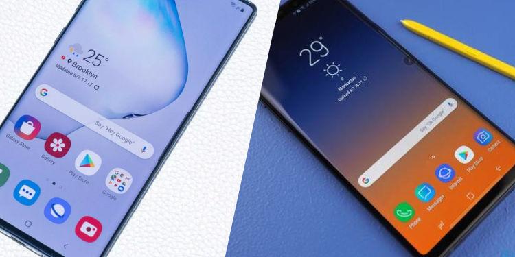 Galaxy Note 10 vs Galaxy Note 9