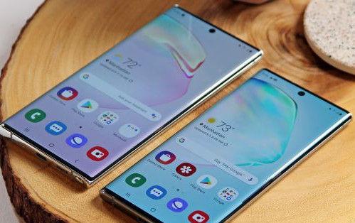 Samsung Galaxy Note 10 e Galaxy Note 10 Plus