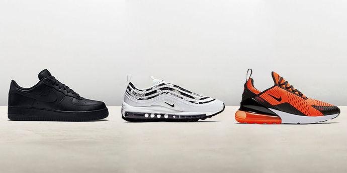 Sneakers Nike più cercate