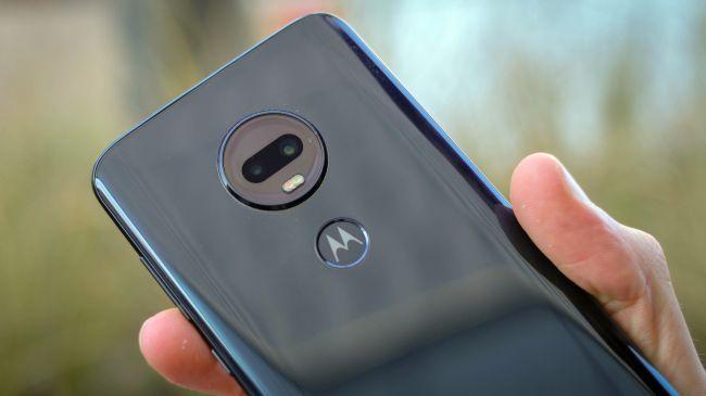 Fotocamera posteriore Motorola Moto G7 Plus