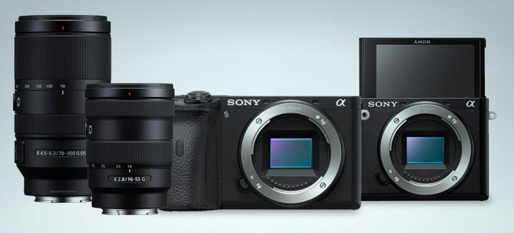 Sony A6600 e a6100