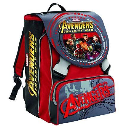 Zaino scuola e asilo Avengers