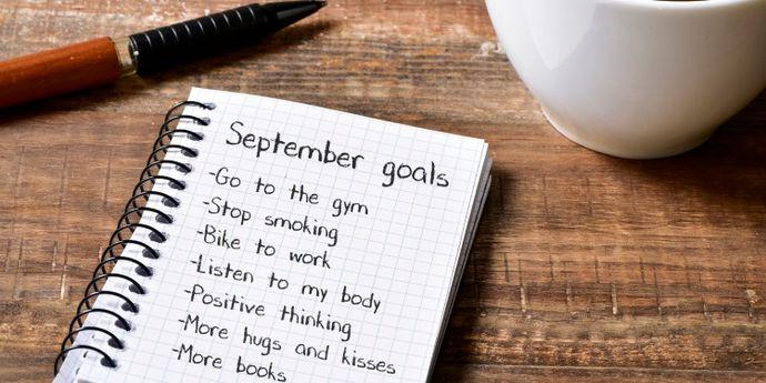 buoni propositi per settembre