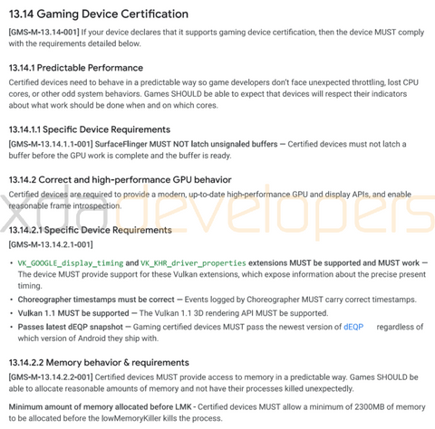 Google-Game-Device-Certification