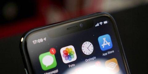 iPhone 11 Pro notch
