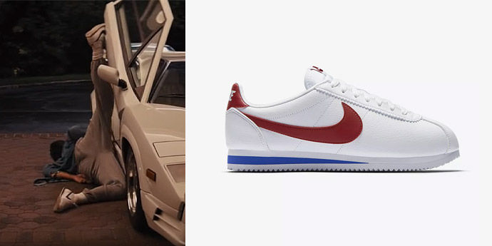 Nike Cortez in The Wolf of Wall Street