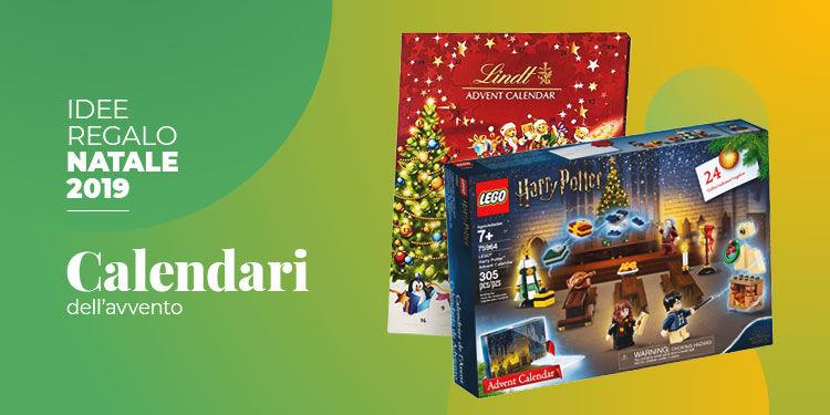 Idee regalo Natale 2019 calendario avvento