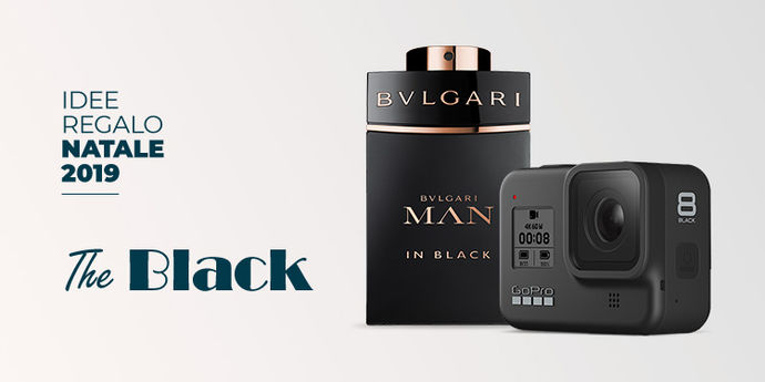 Idee regalo natale total black