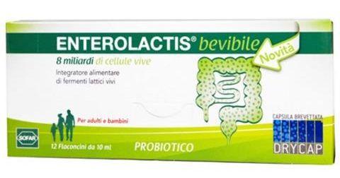 Sofar Enterolactis 12flaconcini