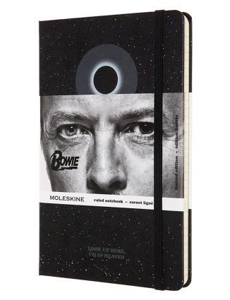 Taccuino Moleskine David Bowie