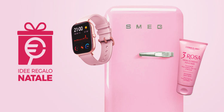 Idee regalo rosa total pink