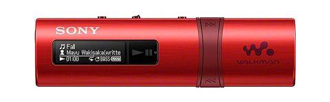 Sony Walkman Nwz-b183 Rosso