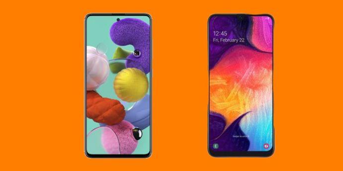 Galaxy A50 Vs Galaxy A51