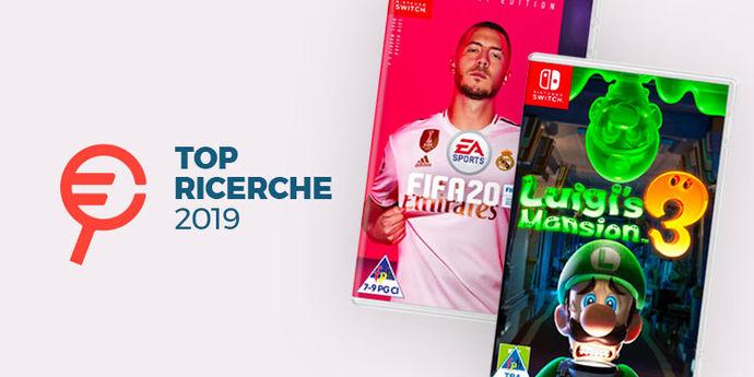 Videogiochi Nintendo Switch piu cercati 2019
