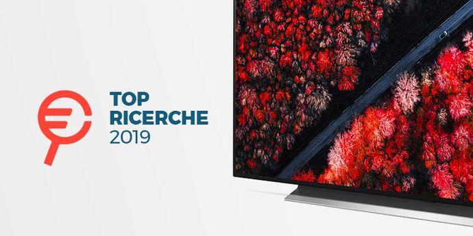 i televisori piu cercati 2019