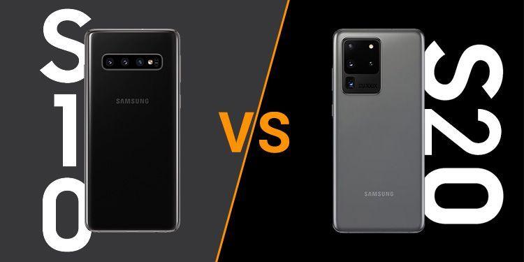 Samsung Galaxy S10 vs S20