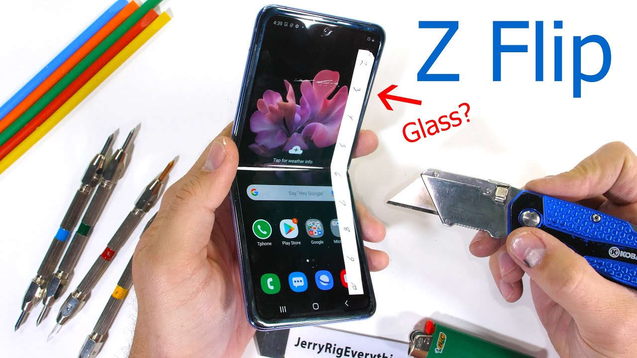 Galaxy Z Flip, schermo in plastica? | Trovaprezzi.it Magazine