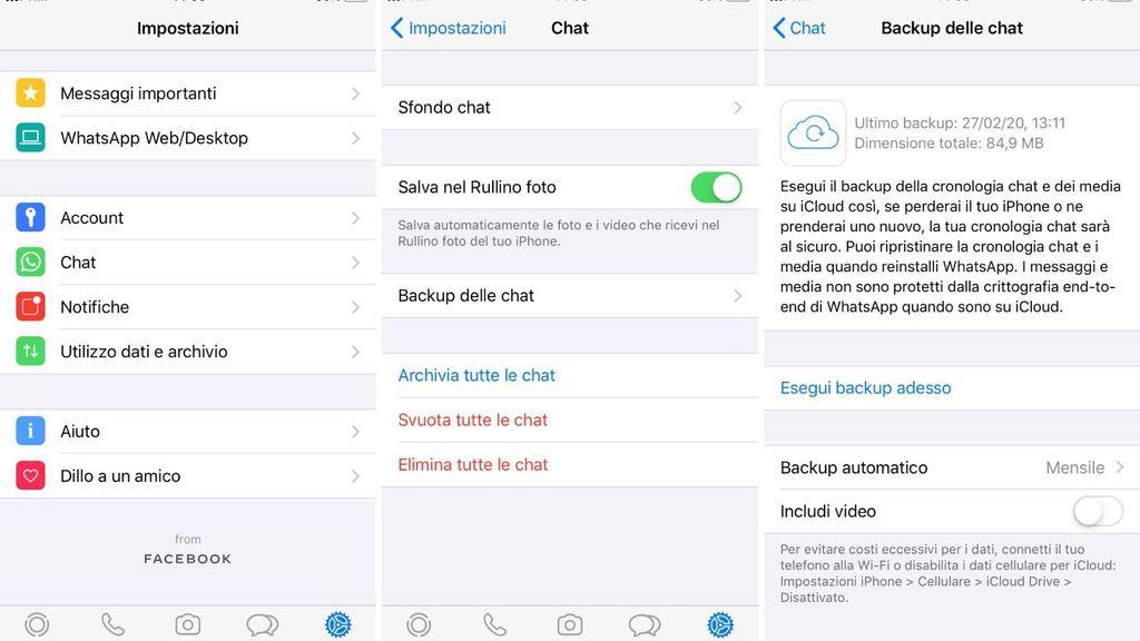Backup Whatsapp IOS
