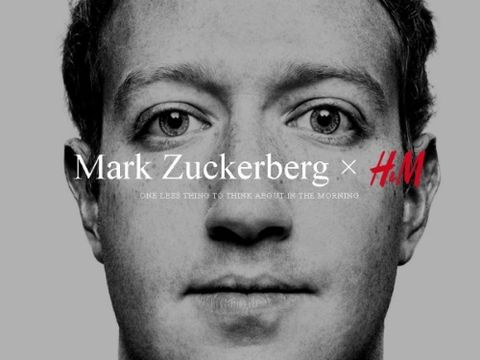 Mark Zuckenberg per H&M