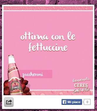 birra rosa firmata Ceres