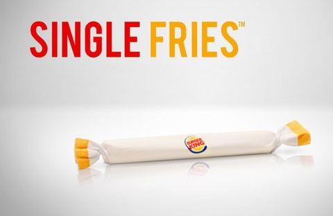 burger-king single fries