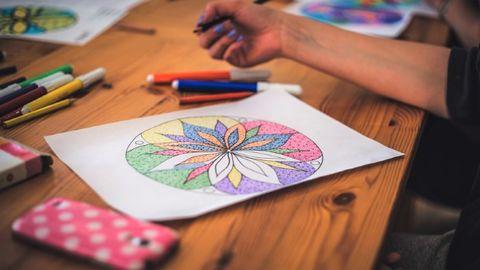 come disegnare mandala