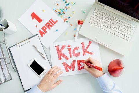 kick me primo aprile