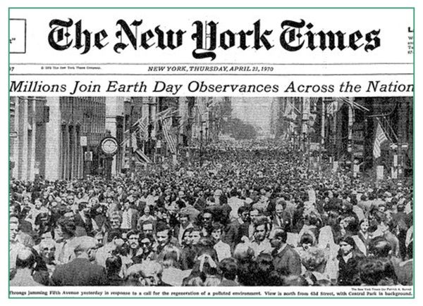 Earth day 22 april 1970