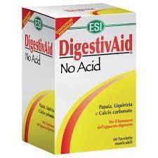 Esi DigestivAid No Acid 60tavolette