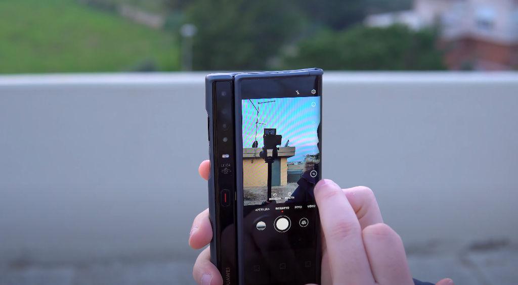 fotocamera selfie