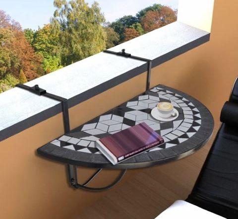 tavolo da balcone sospeso
