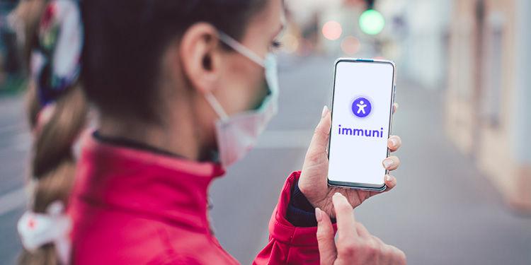 immuni applicazione