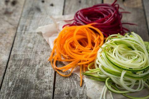 spaghetti di verdura