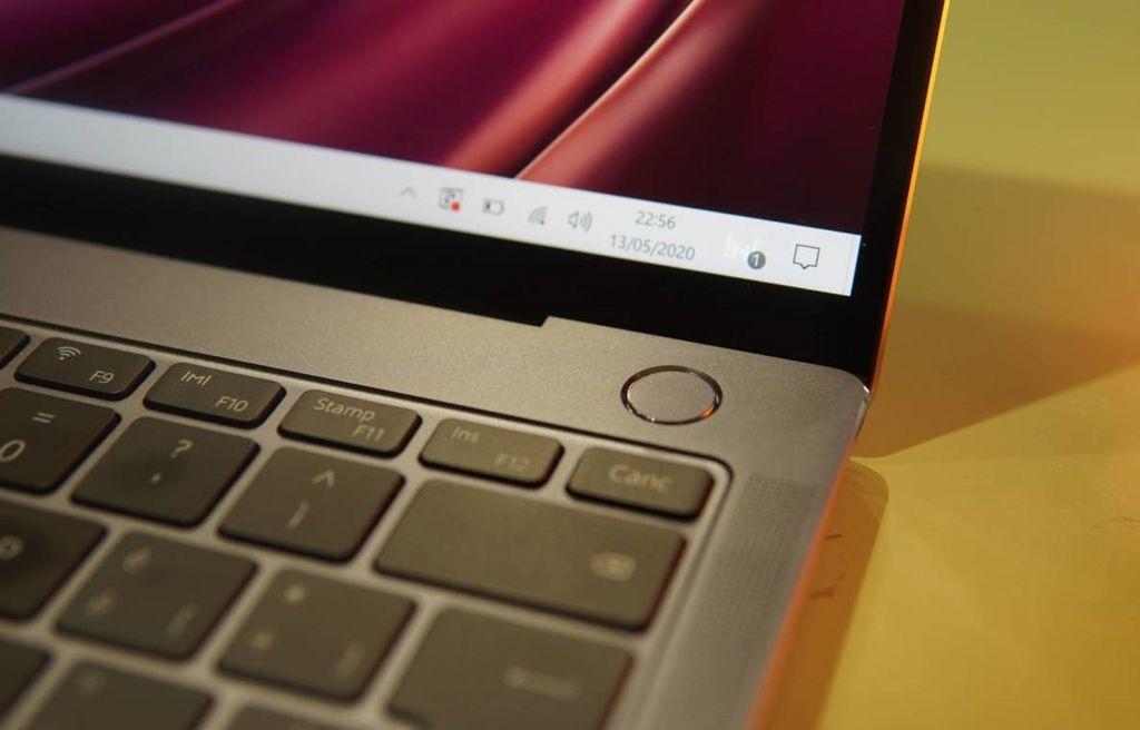 tasto accensione Huawei MateBook X Pro 2020