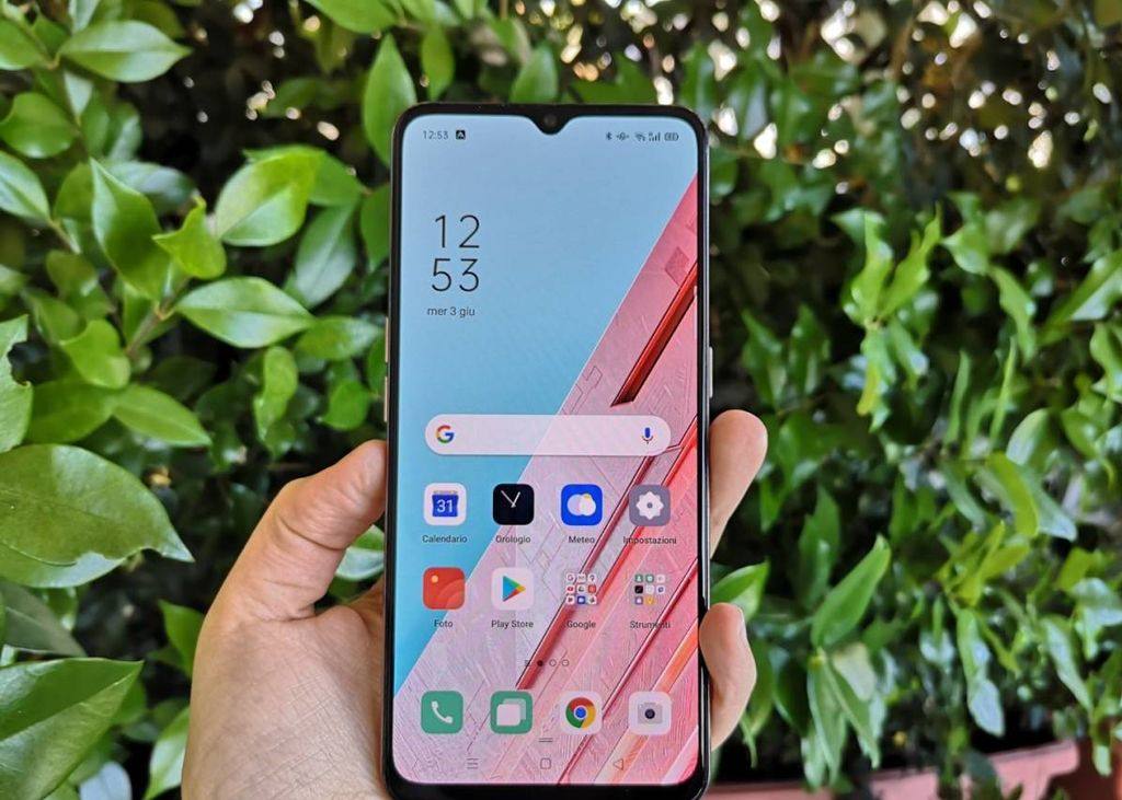 Oppo Find X2 Lite display