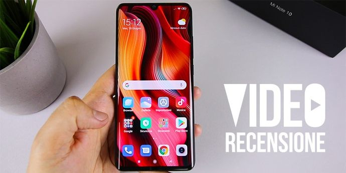 Video recensione Xiaomi Mi Note 10