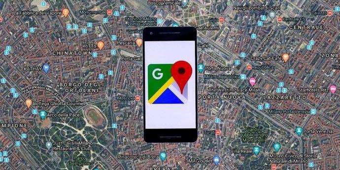 Come usare google maps smartphone