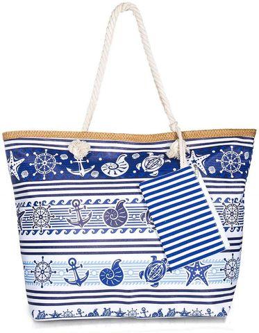 borsa spiaggia tela