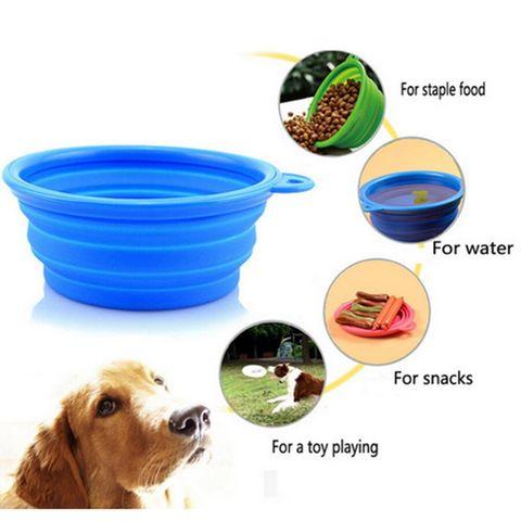 ciotola pieghevole per cani