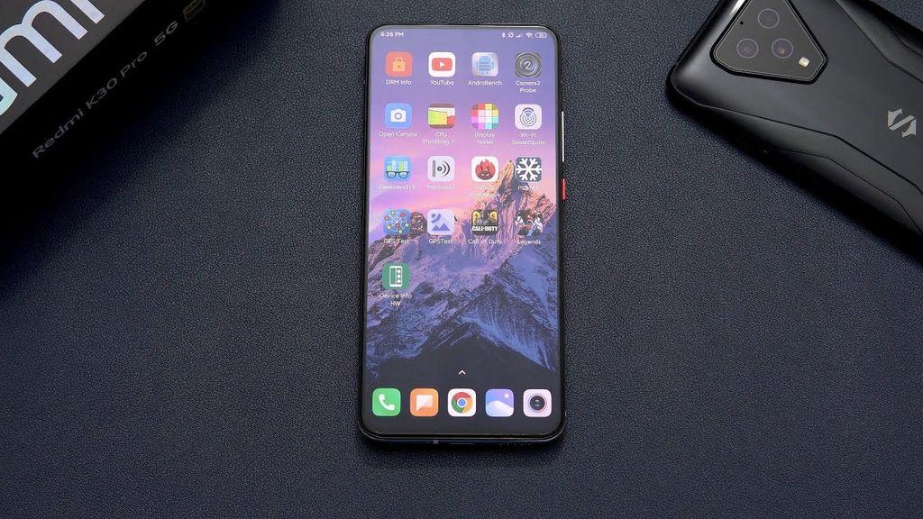 parte frontale Xiaomi Poco F2 Pro