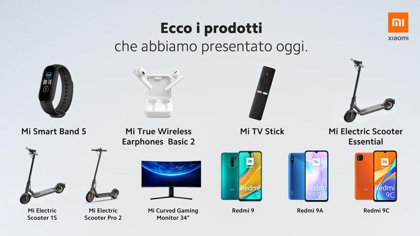 nuovi prodotti Xiaomi