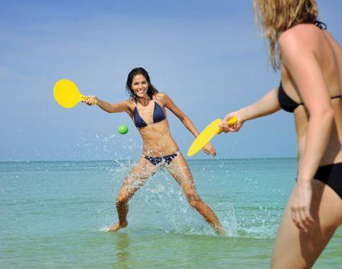 racchette da spiaggia