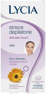 Lycia Strisce Depilatorie Delicate Touch Viso 20pezzi