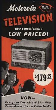 Motorola prima televisione 1947