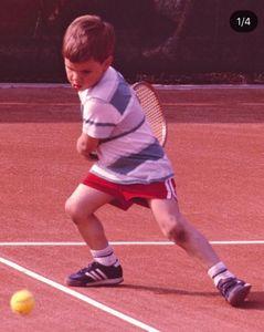 Roger Federer da bambino