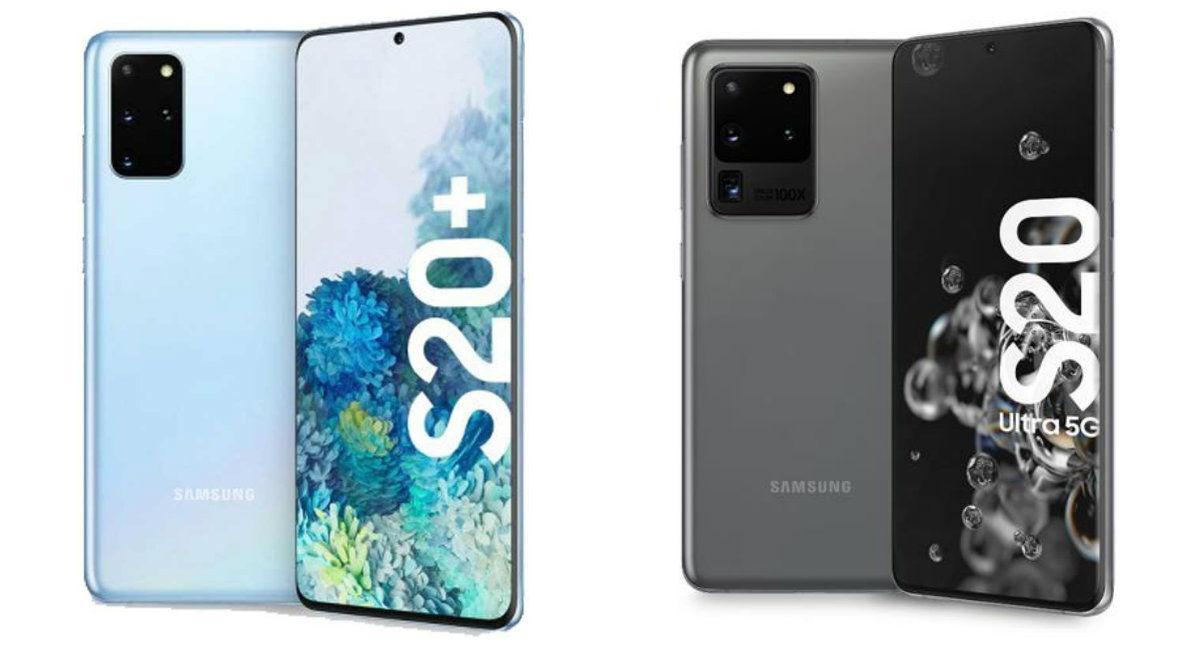 Samsung Galaxy S20 Plus e Samsung Galaxy S20 Ultra 5G