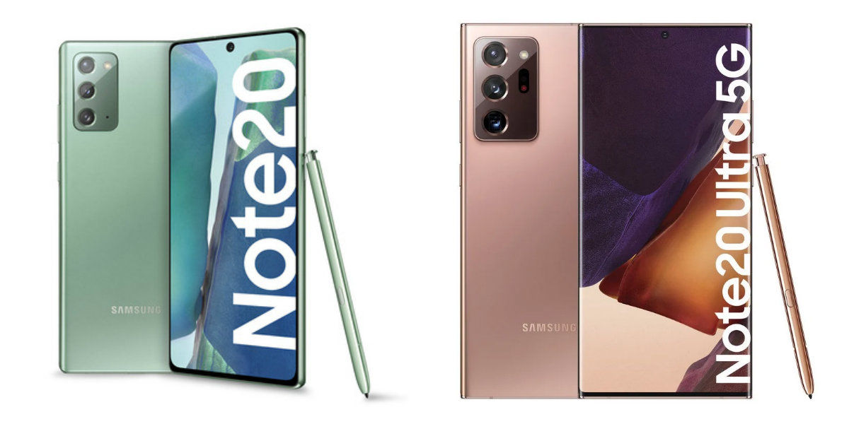 galaxy note 20 e galaxy note 20 ultra 5G