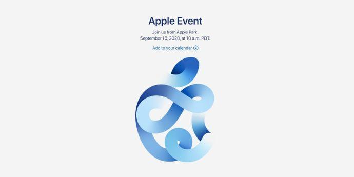 Evento Apple 15 settembre 2020