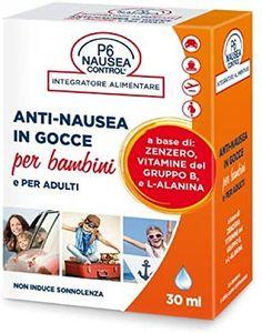 P6 Nausea Control Anti Nausea in Gocce Bambini e Adulti
