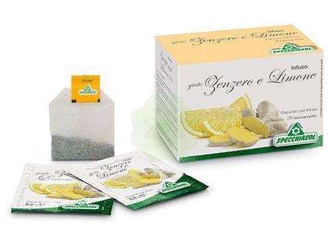 Specchiasol Zenzero e Limone Tisana 20bustine